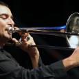 Mercoledì 9 luglio, Teatro Ambra, Poggio a Caiano. Il trombonista jazz a capo di una big band. Con Santarnecchi, Nesti, Tamborrino, Cattarossi, Macelloni. E gli allievi dell'Ottava Nota.
