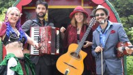 Domenica 24 luglio, Montecalvoli, Santa Maria a Monte (Pisa). Musicisti provenienti da ogni angolo del globo. Riuniti in una band che spazia dai ritmi dei Balcani al Klez, allo swing